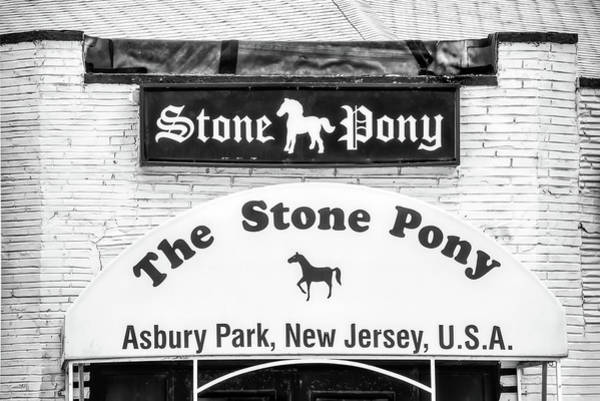 Photograph - Stone Pony Entrance by Gary Slawsky