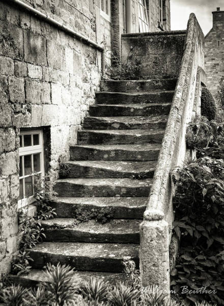 Photograph - Stone Stairway by William Beuther