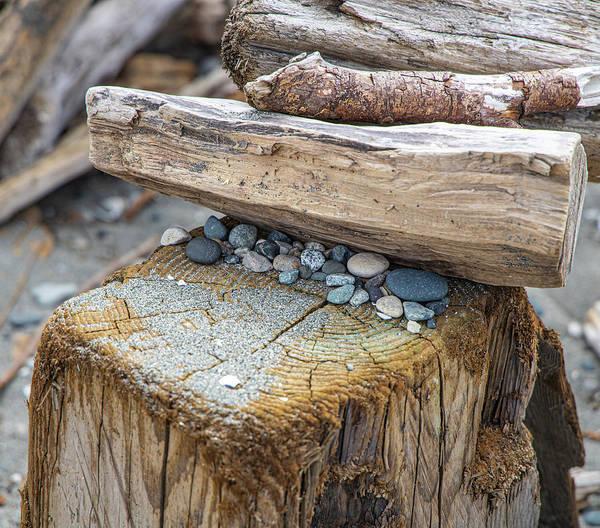 Wall Art - Photograph - Stone Wood by Rick Beauregard