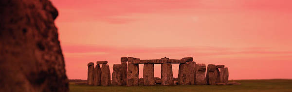Dawn Photograph - Stonehenge At Dawn by Thomas Winz