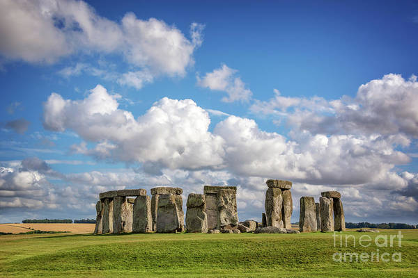 Wall Art - Photograph - Stonehenge by Delphimages Photo Creations
