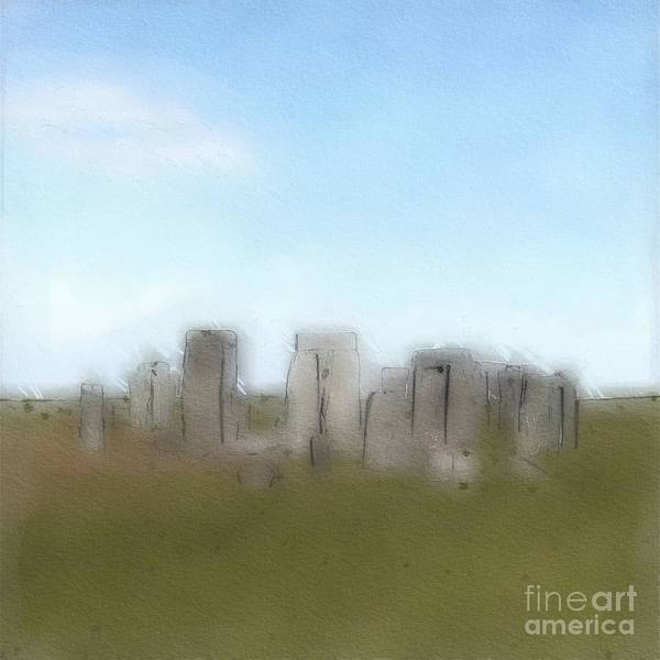 Wall Art - Painting - Stonehenge by Esoterica Art Agency