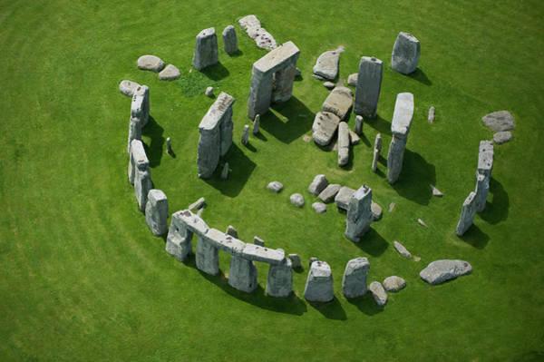 Ancient Photograph - Stonehenge by Jason Hawkes