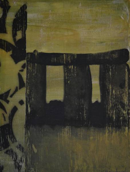 Avondet Wall Art - Painting - Stonehenge by Natalie Avondet