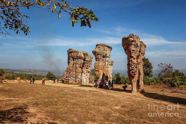 Photograph - Stonehenge Of Thailand by Adrian Evans