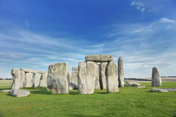 Ancient Photograph - Stonehenge, Salisbury Plain, Wiltshire by Marco Simoni