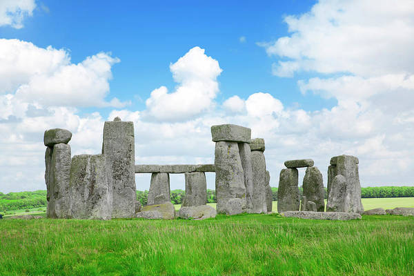 Prehistoric Era Wall Art - Photograph - Stonehenge by Stratol