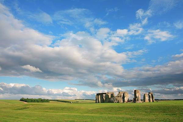 Bronze Age Wall Art - Photograph - Stonehenge, Wiltshire, England by Rich Thompson