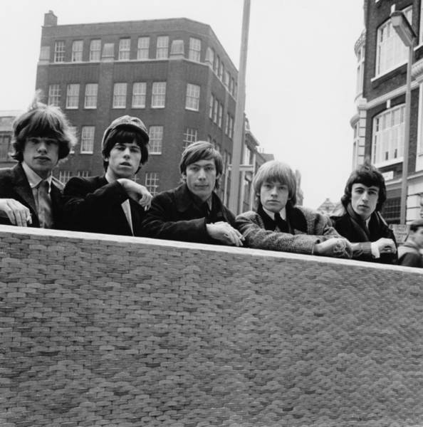 Photograph - Stones In London by Evening Standard