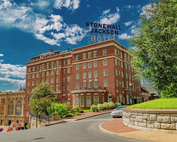 Wall Art - Photograph - Stonewall Jackson Hotel by Betsy Knapp