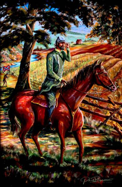 Stonewall Jackson Painting - Stonewall Jackson by Philip Bracco