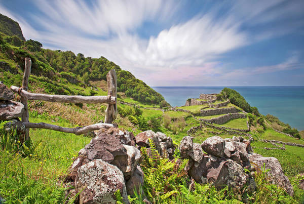 Flores Photograph - Stonewalls by Photograph By Peter Haworth