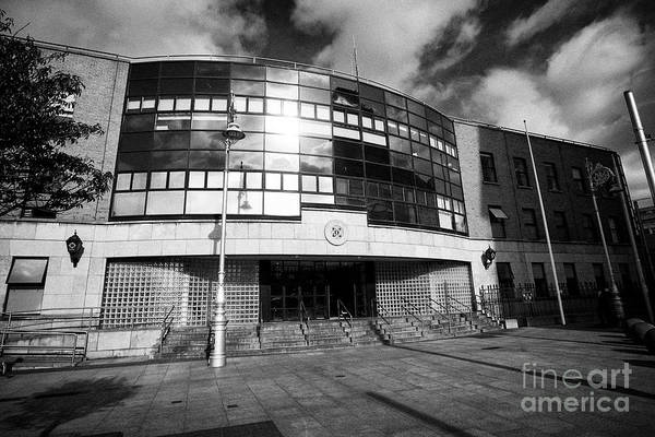 Wall Art - Photograph - Store Street District Garda Station Dublin Republic Of Ireland Europe by Joe Fox