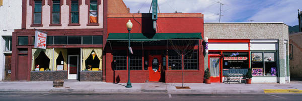 Photograph - Storefronts On A Typical Main Street In by Education Images/uig