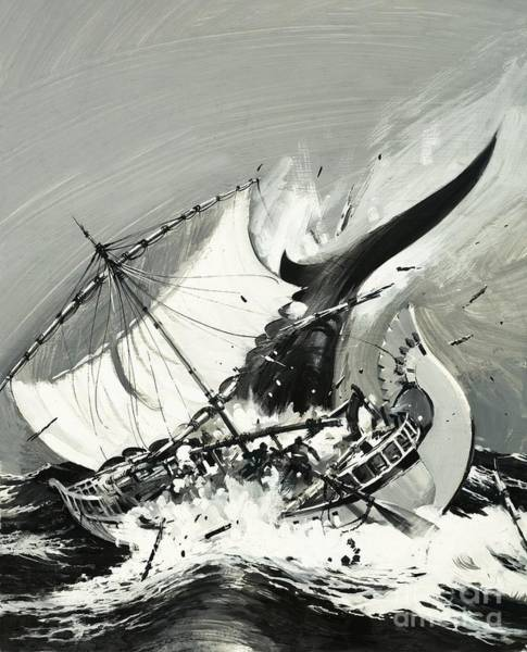 Wall Art - Painting - Stories Of The Sea, The First Mariners by Graham Coton