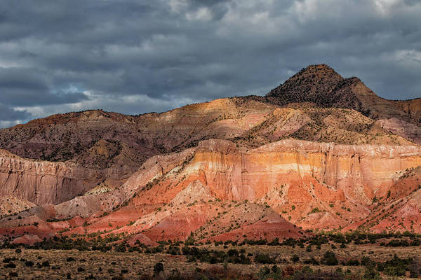 Wall Art - Photograph - Storm Above Ghost Ranch Mountains by Kathleen Bishop
