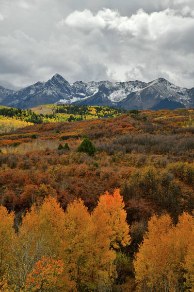 Photograph - Storm And Fall Colors Over Dallas Divide by Ray Mathis