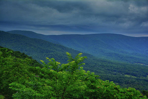 Photograph - Storm Approaches Shenandoah National Park From Jenkins Gap by Raymond Salani III