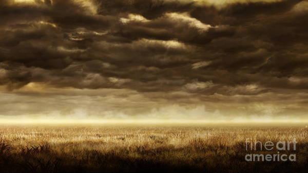 Wall Art - Digital Art - Storm Approaching by Peter Awax