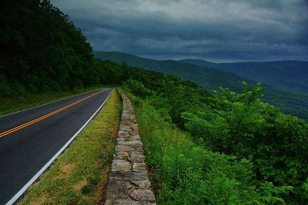 Photograph - Storm Arrives At Shenandoah National Park by Raymond Salani III
