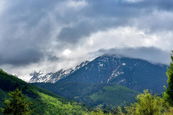 Photograph - Storm Brewing In The Mountains by Dan Friend