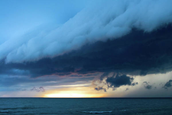 End Of Summer Photograph - Storm Cell by Djphotography