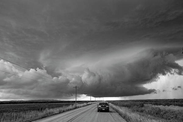 Photograph - Storm Chasin In Nader Alley 005 by NebraskaSC