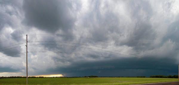 Photograph - Storm Chasing West South Central Nebraska 003 by Dale Kaminski