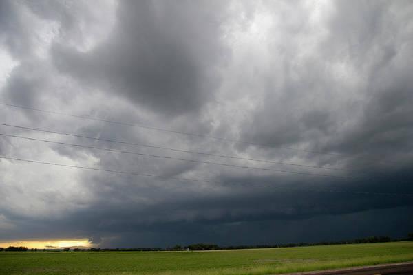 Photograph - Storm Chasing West South Central Nebraska 008 by Dale Kaminski