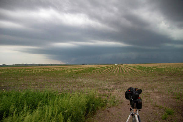 Photograph - Storm Chasing West South Central Nebraska 028 by Dale Kaminski