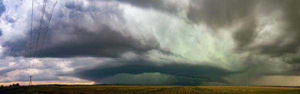 Photograph - Storm Chasing West South Central Nebraska 038 by Dale Kaminski