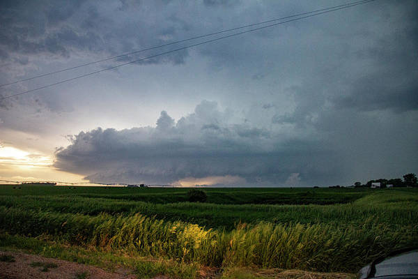 Photograph - Storm Chasing West South Central Nebraska 046 by Dale Kaminski