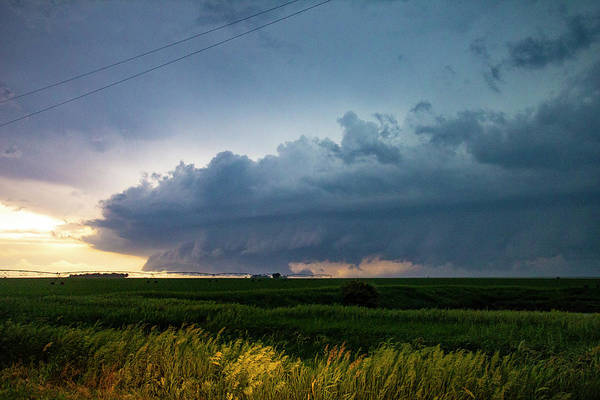 Photograph - Storm Chasing West South Central Nebraska 049 by Dale Kaminski