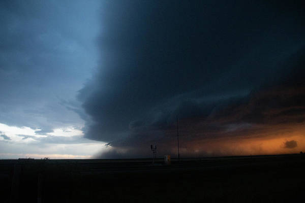Photograph - Storm Chasing West South Central Nebraska 068 by Dale Kaminski