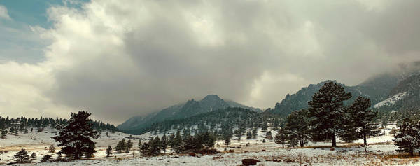 Wall Art - Photograph - Storm Clearing Over Flatirons by Marilyn Hunt