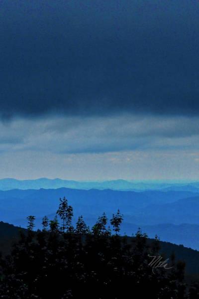 Photograph - Storm Cloud Over Blue Ridge Mountains by Meta Gatschenberger