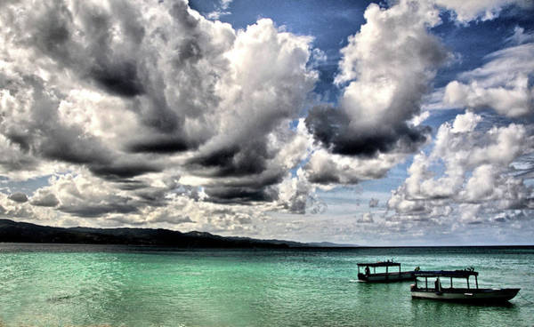 Montego Bay Photograph - Storm Clouds At Montego Bay by Jeff R Clow