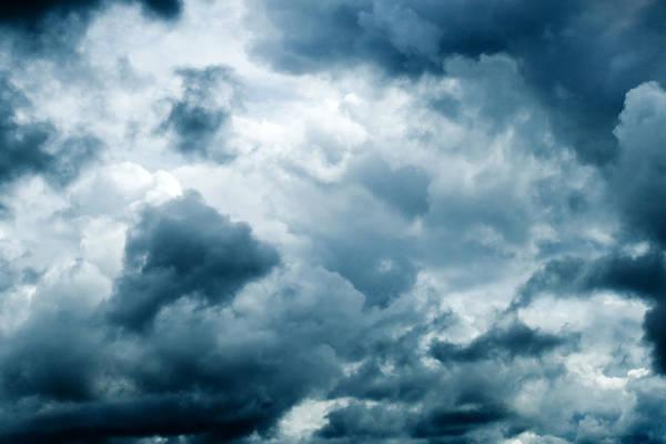 Rain Photograph - Storm Clouds by Kativ