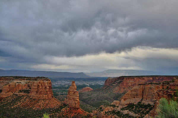 Photograph - Storm Clouds Over Colorado National Monument by Ray Mathis