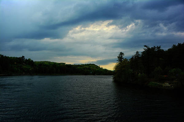 Photograph - Storm Hits The Connecticut River On The Appalachian Trail by Raymond Salani III