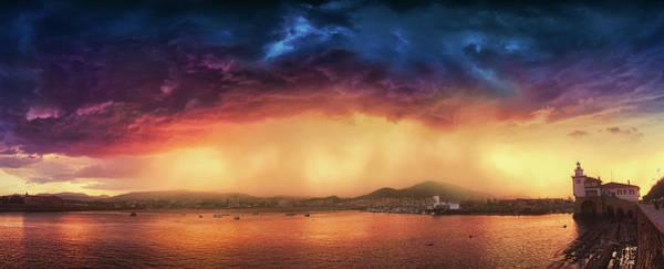 Photograph - Storm In Arriluze by Mikel Martinez de Osaba