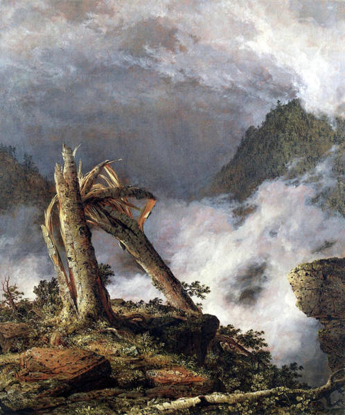Painting - Storm In The Mountains  by Frederic Edgar Church