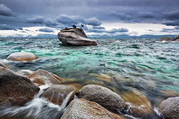 Lake Tahoe Photograph - Storm, Lake Tahoe by Ropelato Photography; Earthscapes