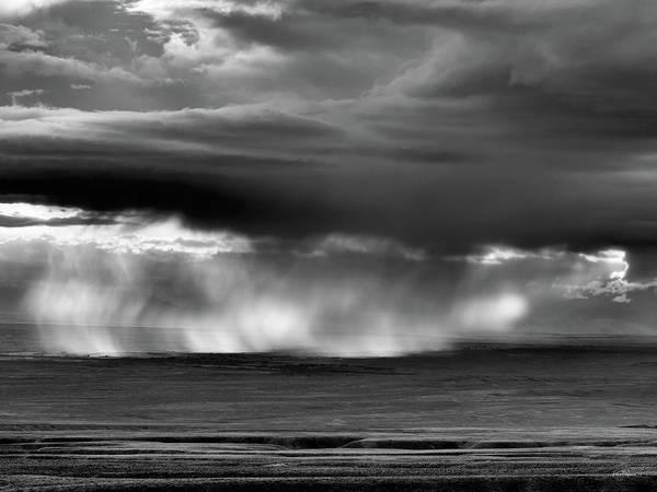 Photograph - Storm Over Bighorn Basin by Leland D Howard