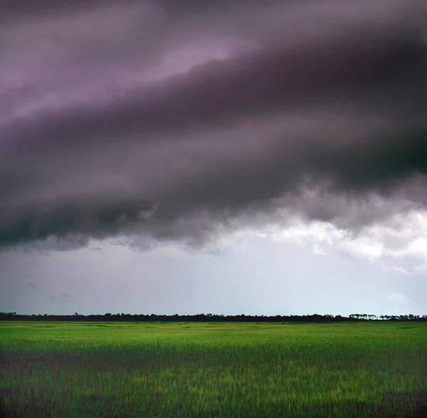 Kiawah Island Photograph - Storm Over Kiawah Island by Richard Felber