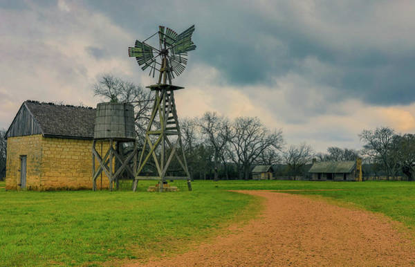 Photograph - Storm Over Old Texas Farm by Dan Sproul