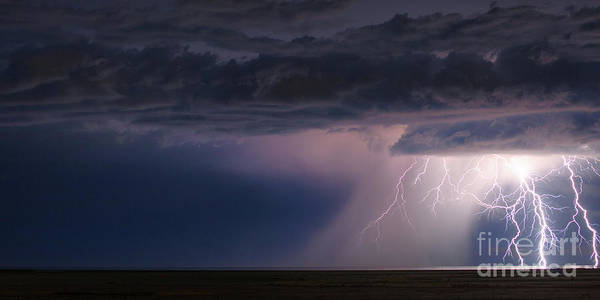 Photograph - Storm Over The Great Salt Lake by Spencer Baugh
