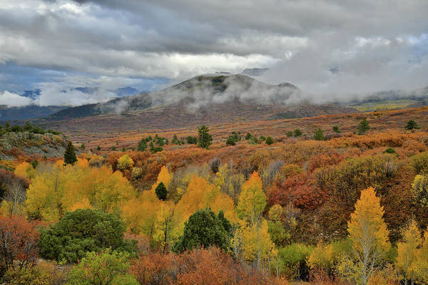 Photograph - Storm Rolls In At Dallas Divide by Ray Mathis