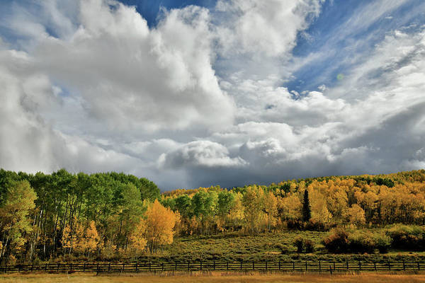 Photograph - Storm Rolls In Over Dallas Divide 11 by Ray Mathis