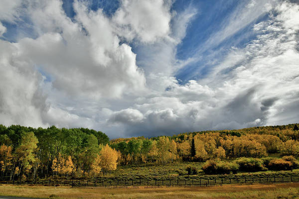 Photograph - Storm Rolls In Over Dallas Divide 12 by Ray Mathis